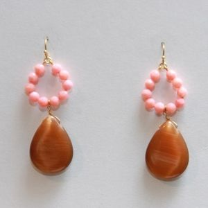 Gorgeous Pink and Coral Earrings